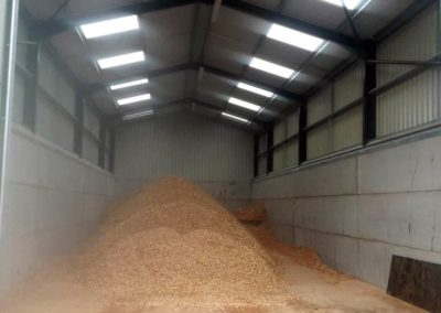 Grain storage builoding