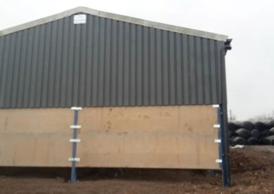 Back of farm building