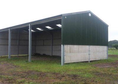 External shot of farm building